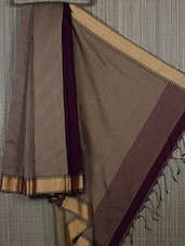 Handwoven Cotton Silk Saree - Cotton Koleksi