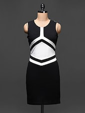 Color Block Sleeveless Bodycon Dress - Buylane