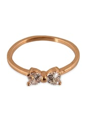 Fasherati Bow Diamond Ring For Girls - By