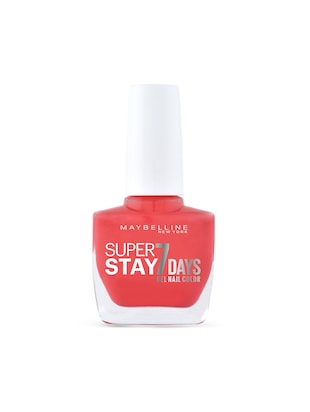 Maybelline New York Nail Polish, 490 Hot Salsa, 10ml -  online shopping for polish