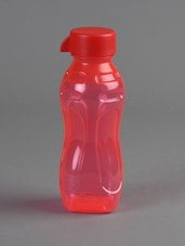 Red Food Grade Plastic Water Bottle - Flair