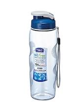 Blue Lid Curve Pattern Bottle - Lock & Lock