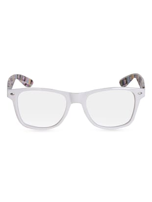 E & F Printed Temple Wayfarer -  online shopping for Sunglasses