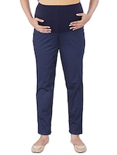 navy blue cotton maternity wear -  online shopping for maternity wear