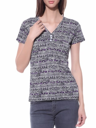 purple 100% cotton top
