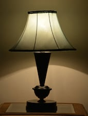 Sky Blue Iron Table Lamp - Yashasvi