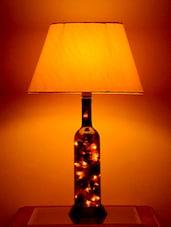 Decorative Liquor Bottle Lamp - Yashasvi