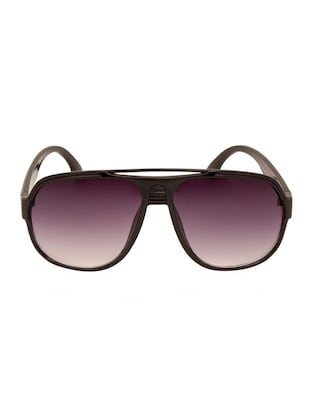 Black UV Protected Polycarbonate Aviator