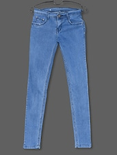 Light Blue Stretchable Denim Jeans - Dashy Club