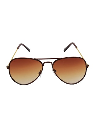 6by6 Brown Wayfarer Unisex Sunglasses