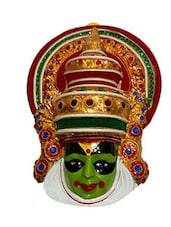 WALL HANGING KATHAKALI MASK MADE IN FIBER -  online shopping for Wall Hanging