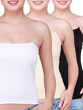 multi colored cotton camisole -  online shopping for Camisoles