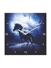 running Horse In Moonlight Wall Clock -  online shopping for Wall Clocks