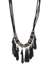 Black Metal Necklace - MoedBuille