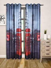Multicoloured Digital Print Door Curtain - By