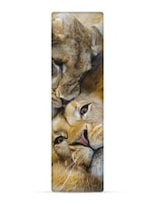 """African Lions"" National Geographic 3D Bookmark - That Company Called IF By Mufubu"
