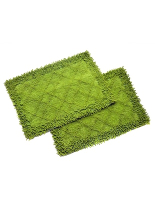 Set of 2 Large Size Cotton Bath Mat