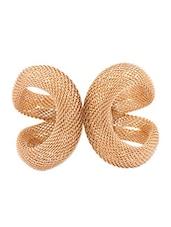 Elegant Golden Hollow Cuff Bracelet - Young & Forever