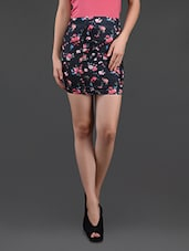 Floral Print Pencil Skirt Cum Tube Top - N-Gal