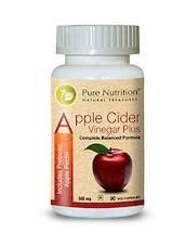 Pure Nutrition Apple Cider Vinegar Plus (Includes Prebiotic Apple Pectin) - By