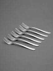 Stainless Steel Forks Set - Shapes