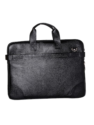 black genuine leather laptop bag -  online shopping for Laptop bags
