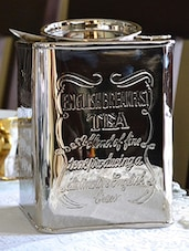 Silver Plated Brass Tea Container - By - 1091761