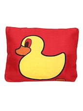 Duck Printed Canvas Tote Bag - Yufta