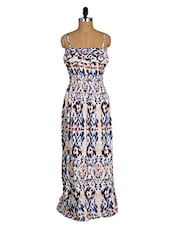 Printed Camisole Neck Viscose Maxi Dress - Amari West