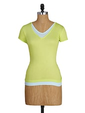Short Sleeves Viscose Top - Amari West