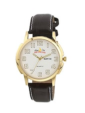 ALPINE CLUB 007 SILVER GOLD MEN'S WATCH BY SWISS MILITARY -  online shopping for Analog Watches