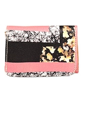 Batik Inspired Graphic Wallet - By
