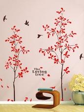 Black And Red Vinyl Wall Sticker - Uberlyfe