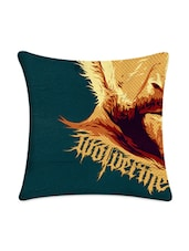Wolverine Digitally Printed Cushion Cover - Mesleep