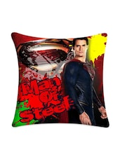 Man Of Steel Digitally Printed Cushion Cover - Mesleep