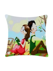 Back To Back Digitally Printed Cushion Cover - Mesleep
