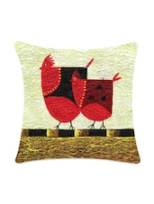 Two Chick Digitally Printed Cushion Cover - Mesleep