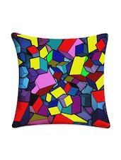 Cubes Digitally Printed Cushion Cover - Mesleep