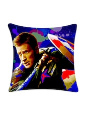 Captain America Digital Printed Cushion Cover - Mesleep