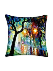Monsoon Night Digital Printed Cushion Cover - Mesleep