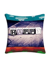 Happy Cubes Digital Printed Cushion Cover - Mesleep