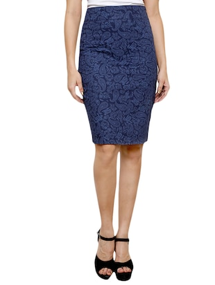 blue cotton skirts -  online shopping for Skirts