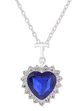 blue alloy necklace -  online shopping for Necklaces