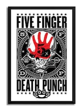 Five Finger Death Punch Framed Poster (Without Glass) -  online shopping for Posters