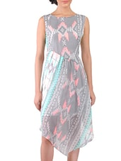 multicolour georgette dress -  online shopping for Dresses