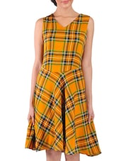 multicolour poly crepe dress -  online shopping for Dresses
