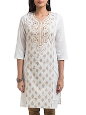multicolor cotton kurti -  online shopping for kurtis