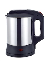 Black Handle Stainless Steel Electric Kettle - DESEO
