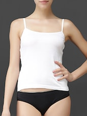 Plain Solid Cotton Camisole - LEADING LADY
