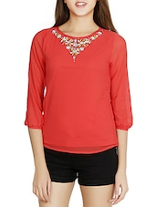 coral top -  online shopping for Tops